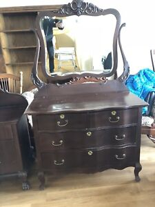 Antique dresser and wash stand