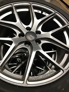 NISSAN 370z MUSTANG, 350z, INFINITI WHEELS AND TIRES MINT 19""