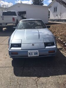 Classic 1986 Nissan 300 Zx Turbo charged  T-roof