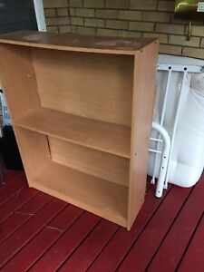 3 tier shelving unit - 4 ft high approx