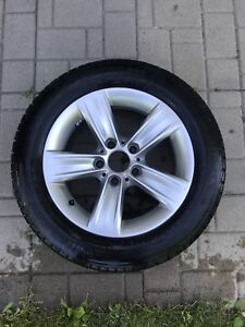 BMW 3 series winter tires and mags