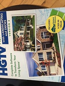 HGTV home design software and manual