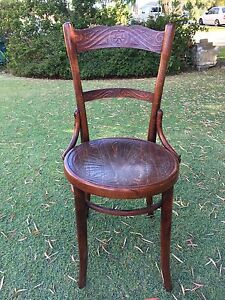 Vintage Bentwood Mundus Dining Chair with carved seat Attadale Melville Area Preview