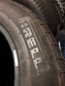 225/55r16 Pirelli tires 4 of the 2 good others are not really