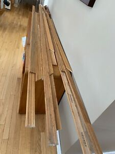 Oak baseboards and doors free