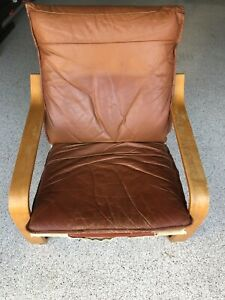 Brown leather chair | Armchairs | Gumtree Australia ...