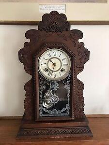 Antique Ansonia Mantle Clock Croydon Maroondah Area Preview