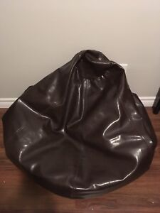 Pleather Bean Bag Chair