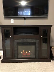 Electric Fireplace / TV Stand
