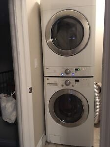 LG stackable washer and dryer combo