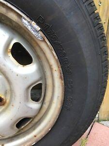 Honda tires with rims