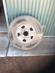 Landcruiser wheel tyre Port Pirie Port Pirie City Preview