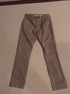Like New Mens RVCA Pants (paid $65 plus tax)