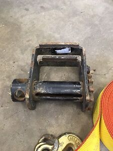 Flat deck ratchet and strap