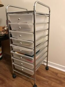 Storage Drawers on Wheels