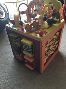Cube d'activité Zany Zoo