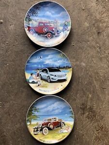 Collector GM plates and they are number