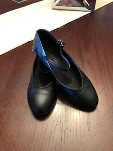 Black Capezio Charatcter dance shoes