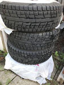 4 pneus d'hiver 16pouces