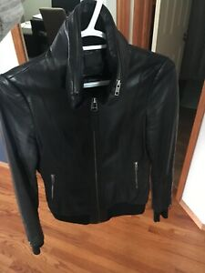 Size X-Small Black Mackage Leather Jacket $200