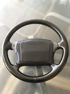 Corvette 1990 steering wheel and airbag. And coil spring  Shelley Canning Area Preview