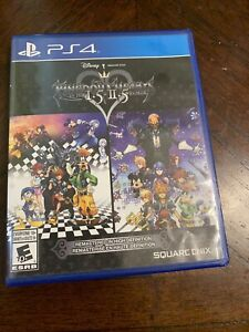 Kingdom hearts (1, 2 and 3) collection PS4