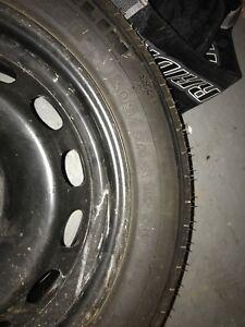 Steel Rim & Tire