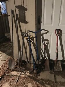 MISCELLANEOUS ITEMS YARD TOOLS