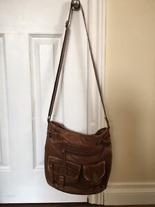 Two brown purses - $10 each