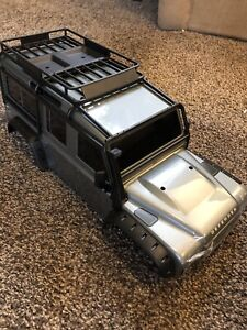 Traxxas TRX4 Landrover with upgrades