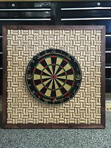 Made made dart board