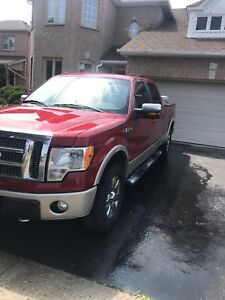 2009 FORD F150 LARIAT SUPERCREW 4X4 SAFETIED