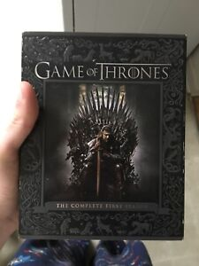 Game of Thrones Bluray+dvd sets