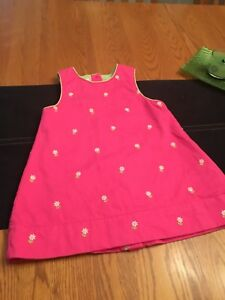 OSHKOSH  size 18 month  girl dress jumper !