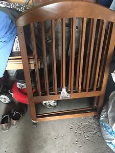Solid Wood Baby Crib-Moving Sale