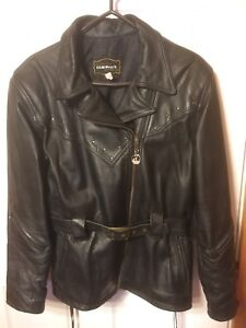 Women's Motorcycle jacket and chaps