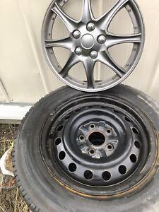 """Rims + pneus d'hiver 15"""""""