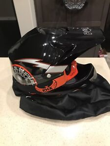 Boys youth Dirt Bike ATV helmet with googles size medium