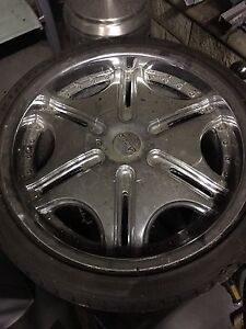 "20"" Armano wheels brand new tyres 5 stud fit hilux ford Glenbrook Blue Mountains Preview"