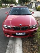 BMW 325Ci Coupe 2005 Melbourne Airport Hume Area Preview