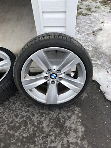 Bmw 3 series wheel & tire set