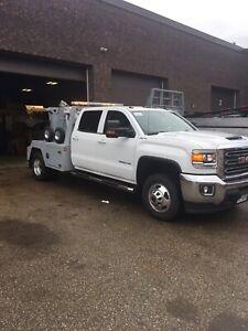 Tow truck, Wrecker, GMC, Diesel