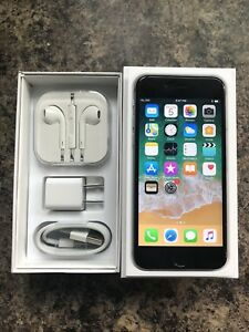 Unlocked 10/10 iPhone 6s 32GB with Box, Accessories & Case