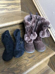 Girls Size 8 Toddler Winter boots