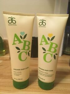 Arbonne Baby Care- Hair and body wash and body lotion