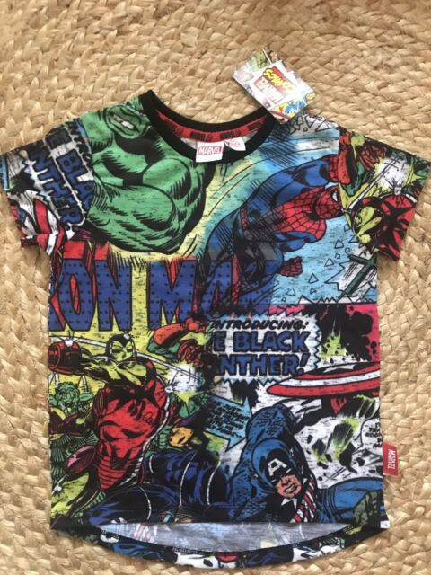 4a99ac30e8ca5 Kids marvel comic tee shirt new with tag size 3-4 years