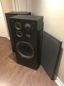 2 speakers Mach 6000