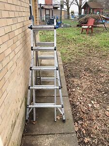 24' - 32' extension ladder and 5 step multi way