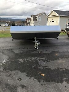 8x11 sled trailer completely redone!!!