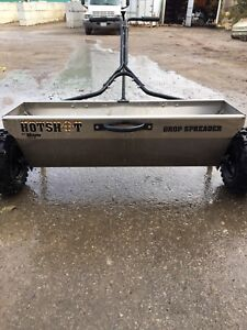 Brand New Meyer Hot Shot Drop Spreader For Sale
